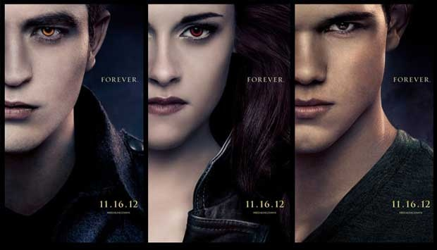 Tiket Breaking Dawn Part 2 Dijual 1 Oktober