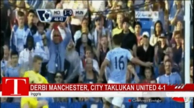 Derbi Manchester, City Taklukan United 4-1