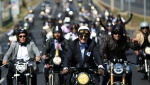 Puluhan Motor Klasik Ikuti Acara The Distinguished Gentleman Ride