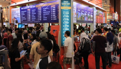 Berburu Tiket Murah di Garuda Indonesia Travel Fair 2017