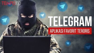 Telegram, Aplikasi Favorit Teroris