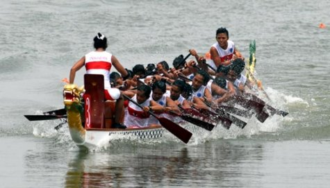 Perahu Naga Diandalkan di Asian Beach Games