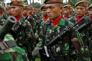TNI Conduct Joint Military Exercise