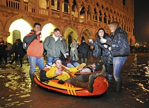 Italy's Venice Ravaged by Second Highest Tide in History