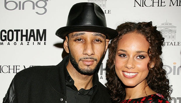 Alicia Keys (kanan) dan Swizz Beatz. AP/Dave Allocca