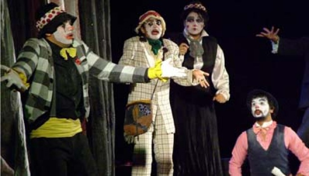 Hamlet the Clown Prince. (Foto:thehindu.com)