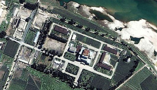 Situs Yongbyon, Korea Utara. Foto: dailymail.co.uk