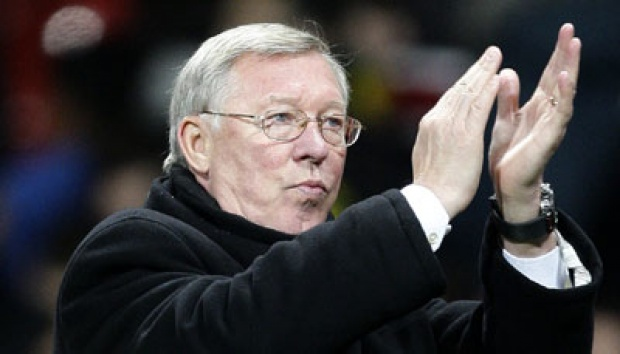Sir Alex Ferguson. AP/Jon Super