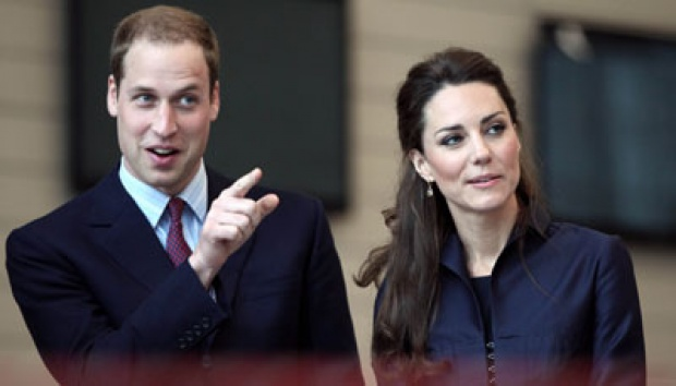 Pangeran William dan Kate Middleton. AP/Adrian Dennis, Pool