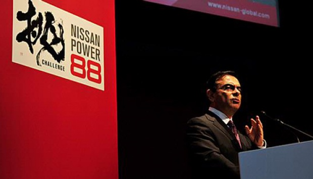 Carlos Ghosn. Dok. Nissan Motor Co.