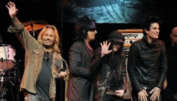 Motley Crue. AP/Chris Pizzello