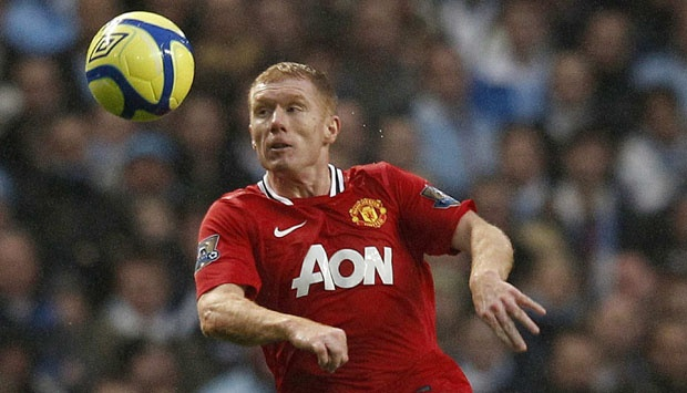 Paul Scholes. REUTERS/Phil Noble