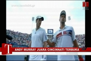 Andy Murray Juara Cincinnati Terbuka