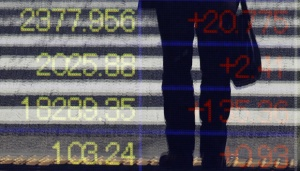 Asia Slips, Euro Hovers at 2-month Peak amid Global Bond Rout