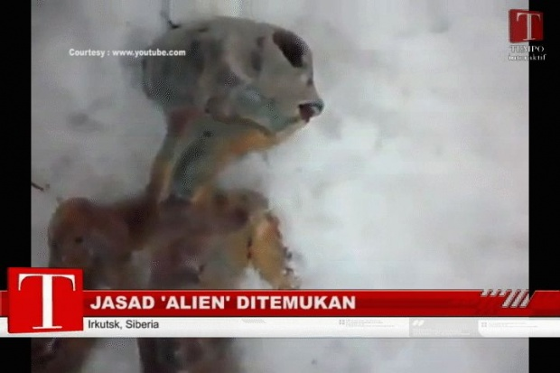 Alien Tinggal di Dua Planet Ini