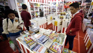 Indonesia Exhibits 300 Books at Beijing International Book Fair