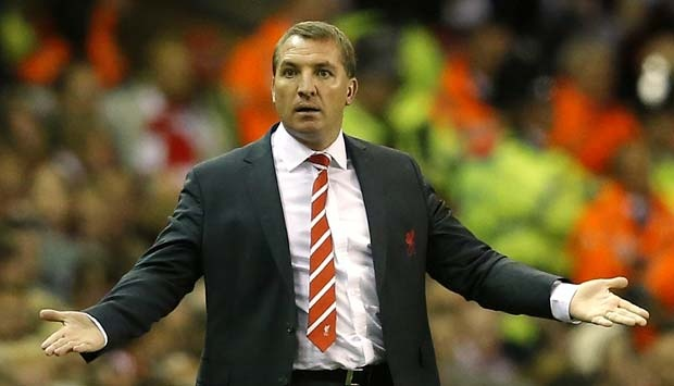 Brendan Rodgers. REUTERS/Phil Noble