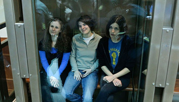 Pussy Riot Masuk Nominasi Person of The Year 2012