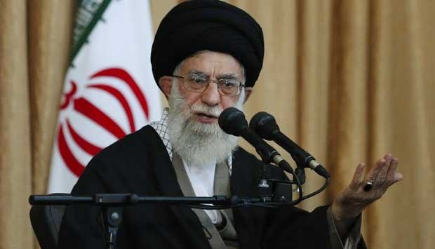Ayatollah Ali Khamenei. AP/Office of the Iranian Supreme Leader