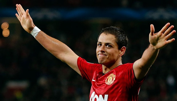 Javier Hernandez. REUTERS/Phil Noble