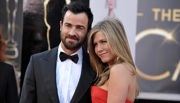 Justin Theroux dan Jennifer Aniston. John Shearer/Invision/AP