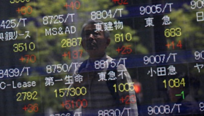 Asian Shares Near 2-Month High Ahead of China Data