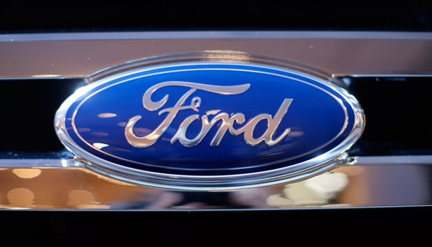 Logo Ford. REUTERS/Mike Segar