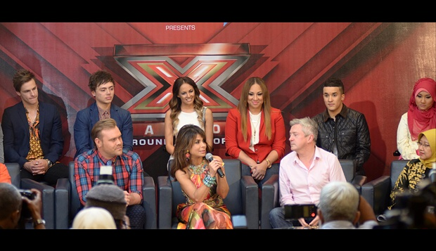 X Factor Around The World Pertama Kali di Dunia