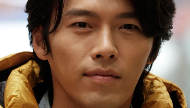Hyun Bin. (AP Photo/Lee Jin-man)