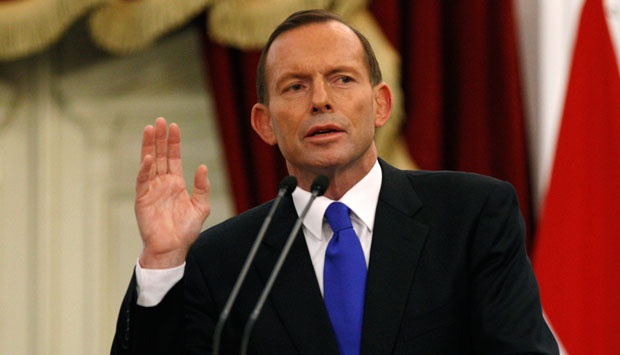 PM Australia Tony Abbott. (AP Photo/Achmad Ibrahim)