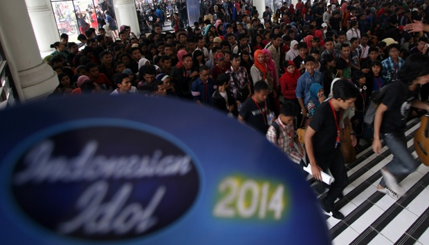 Lagu-lagu 15 Kontestan Indonesian Idol 2014