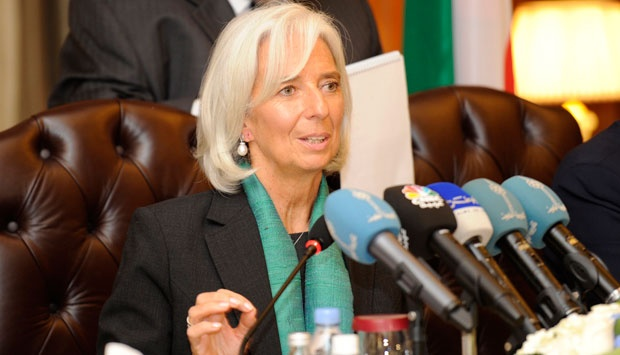 Direktur IMF Christine Lagarde. REUTERS/Stephanie McGehee