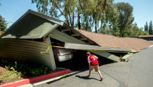 Magnitude 7.1 Earthquake in California Causes Damage, Injuries
