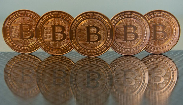 Ilustrasi bitcoin.  KAREN BLEIER/AFP/Getty Images