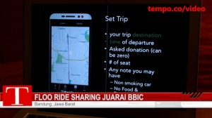 Floo Ride Sharing Juarai BBIC