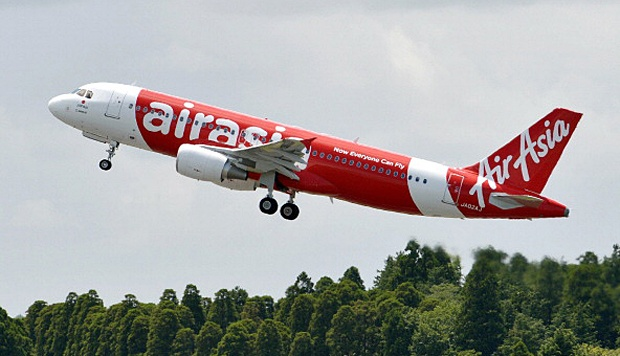 Pesawat AirAsia A320. JIJI PRESS/AFP/Getty Images