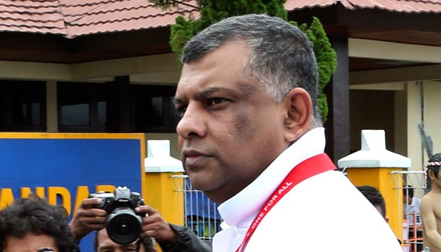 CEO Grup AirAsia, Tony Fernandes. AP Photo/Tatan Syuflana