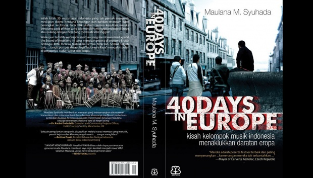 Film 40 Days in Europe. indiegogo.com
