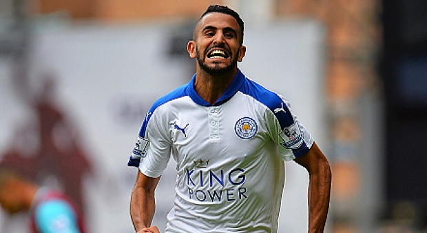 Riyad Mahrez. Getty Images
