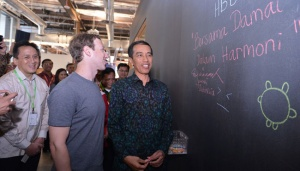 Terkesan 'Nge-game Virtual' Bareng Bos Facebook, Jokowi Catat Ini