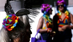 Sydney`s Gay Pride Street Parade Celebrates Same-sex Marriage