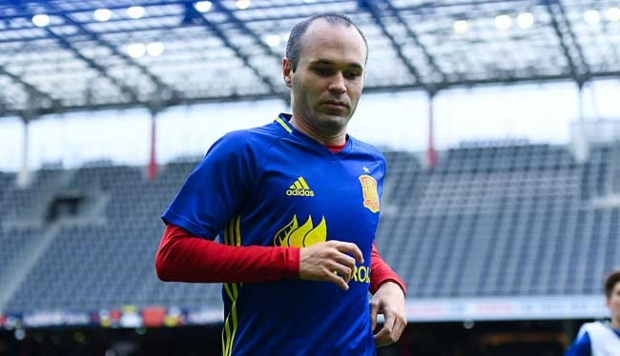 Andres Iniesta. David Ramos/Getty Images