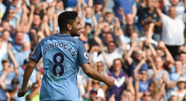 Pemain Manchester City, Ilkay Gundogan. (www.mirror.co.uk)