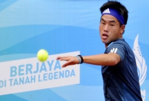 Tenis Asian Games 2018: Anthony Keok Dari Pakistan