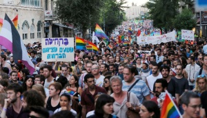 Tel Aviv Gay Parade Draws a Quarter-million Israelis, Foreigners