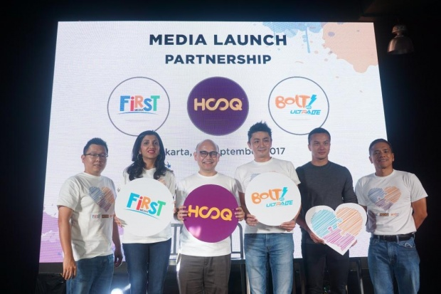 Kolaborasi First Media, BOLT dan HOOQ