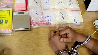 Riau Islands' Police Arrest Malaysian Drug Ring Member