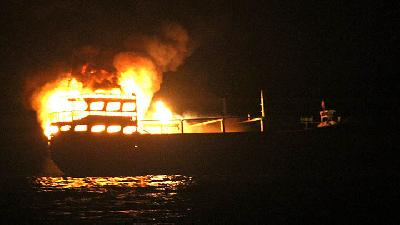 7 Dead, 6 Missing in KM Izhar Boat Fire in Bokori Island