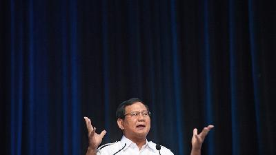 Prabowo Likens Indonesia's Economy to African Country Haiti
