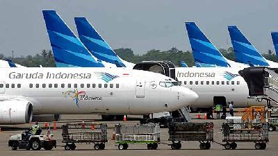 Finance Ministry to Meet OJK, Discuss Garuda Audit